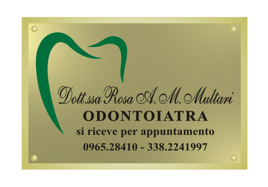 Studio della Dott.ssa Rosa Multari